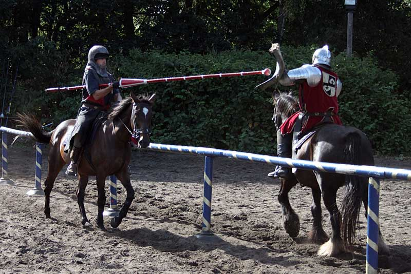 The jousting school