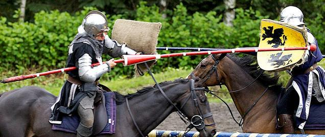 Spring Amateur Jousting Tournament - Monday 5th May - All Welcome!