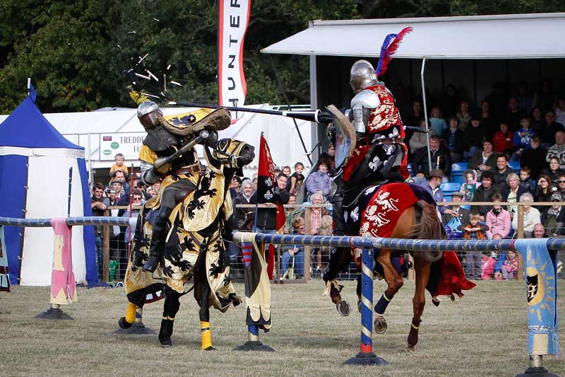 Jousting Displays