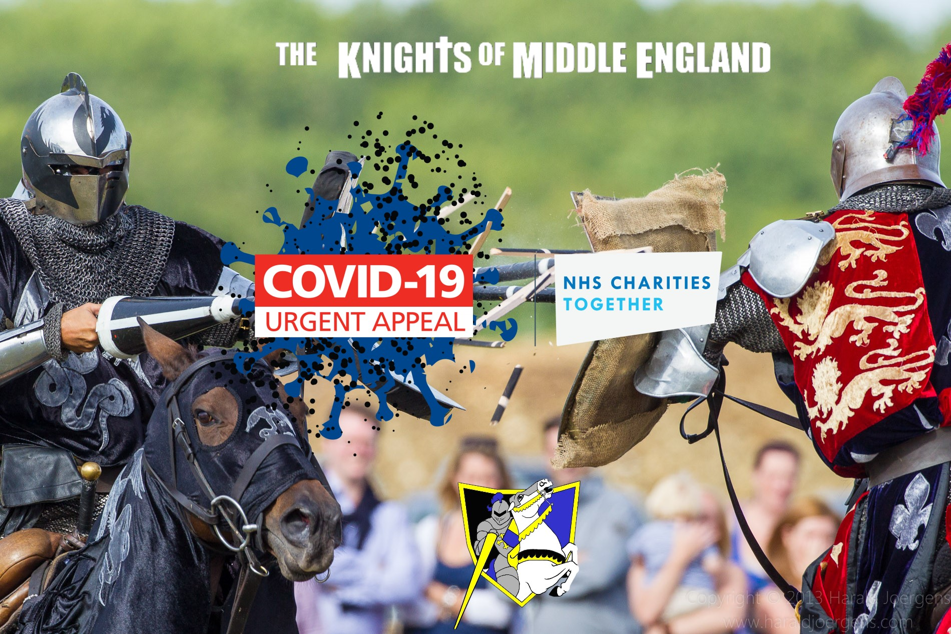 The Knights of Middle England are Supporting NHS Charities COVID-19 Urgent Appeal